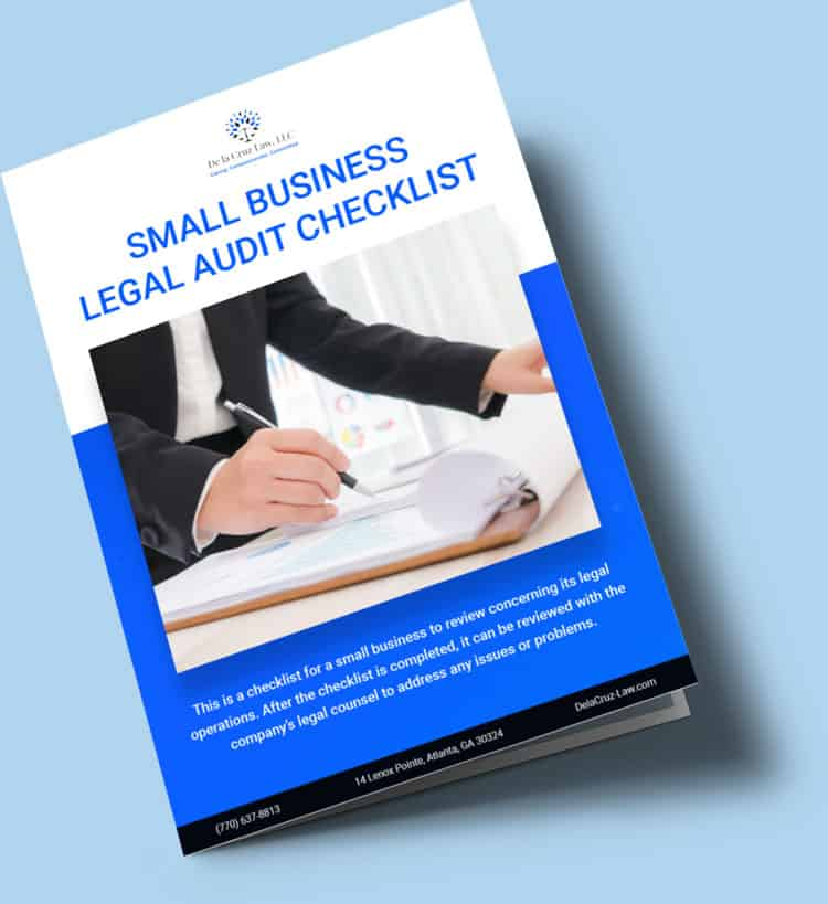 Small Business Audit Checklist cover